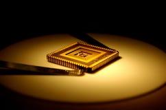 υπολογιστής τσιπ Στοκ εικόνα με δικαίωμα ελεύθερης χρήσης