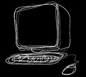 υπολογιστής διανυσματική απεικόνιση