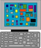 υπολογιστής Ελεύθερη απεικόνιση δικαιώματος