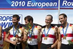 ΥΠΟΛΟΙΠΟΣ ΚΌΣΜΟΣ: Τα ευρωπαϊκά πρωταθλήματα κωπηλασίας Στοκ Φωτογραφίες