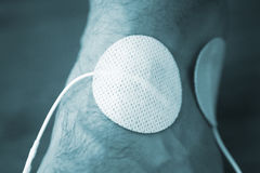 Υπομονετική θεραπεία φυσιοθεραπείας καρπών βραχιόνων χεριών Στοκ εικόνες με δικαίωμα ελεύθερης χρήσης