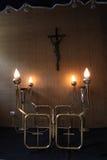 υποστήριξη κεριών Στοκ φωτογραφία με δικαίωμα ελεύθερης χρήσης