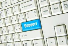 υποστήριξη κουμπιών Στοκ φωτογραφία με δικαίωμα ελεύθερης χρήσης