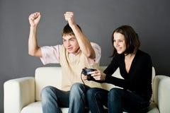 υποστήριξη παιχνιδιών Στοκ Εικόνες