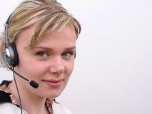 υποστήριξη πελατών Στοκ Φωτογραφία