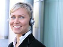 υποστήριξη πελατών Στοκ φωτογραφίες με δικαίωμα ελεύθερης χρήσης