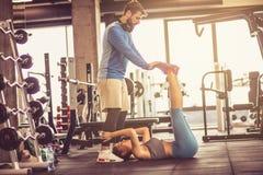 Υποστήριξη στην άσκηση στοκ εικόνα με δικαίωμα ελεύθερης χρήσης