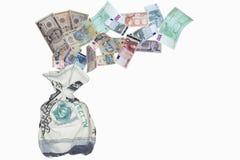 Υποστήριξη του νομίσματος Στοκ εικόνες με δικαίωμα ελεύθερης χρήσης