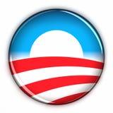 υποστήριξη obama Στοκ εικόνα με δικαίωμα ελεύθερης χρήσης