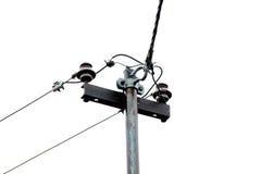Υποσταθμός ηλεκτρικής ενέργειας στη βροχή Στοκ φωτογραφία με δικαίωμα ελεύθερης χρήσης