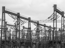 Υποσταθμός Bolney, Wineham, μέσο Σάσσεξ, UK στοκ φωτογραφίες με δικαίωμα ελεύθερης χρήσης
