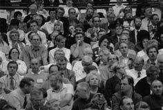 Υποστηρικτές Αγγλία 1993 κόμματος εργασίας Στοκ φωτογραφίες με δικαίωμα ελεύθερης χρήσης
