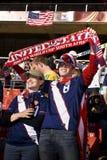 Υποστηρικτές ΑΜΕΡΙΚΑΝΙΚΟΥ ποδοσφαίρου - WC 2010 της FIFA Στοκ Φωτογραφία