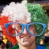 Υποστηρικτής ποδοσφαίρου της Ιταλίας - WC 2010 της FIFA Στοκ Εικόνα