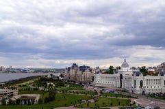 Υπουργείο γεωργίας και τροφίμων Παλάτι των αγροτών Kazan, Ρωσία στοκ φωτογραφία με δικαίωμα ελεύθερης χρήσης