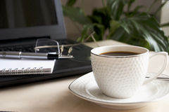 Υπουργείο Εσωτερικών, εργασία καφέ και επιχειρήσεων Στοκ εικόνα με δικαίωμα ελεύθερης χρήσης