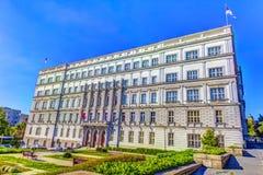 Υπουργείο Οικονομικών ΕΙΚΌΝΑΣ HDR Στοκ εικόνες με δικαίωμα ελεύθερης χρήσης