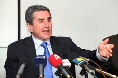 Υπουργός Υγείας της Ελλάδας, Ανδρέας Loverdos Στοκ φωτογραφία με δικαίωμα ελεύθερης χρήσης
