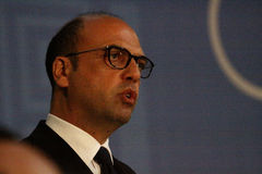 Υπουργός Angelino Alfano Στοκ φωτογραφία με δικαίωμα ελεύθερης χρήσης