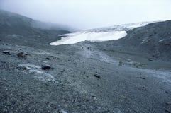 υποχώρηση παγετώνων Αλμπέρ& Στοκ Εικόνες