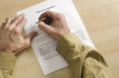 υποψήφιο μολύβι εργασία&si Στοκ φωτογραφία με δικαίωμα ελεύθερης χρήσης