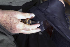 Υποδηματοποιός στοκ φωτογραφία με δικαίωμα ελεύθερης χρήσης