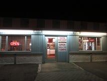 Υπο- κατάστημα Πρόεδρος Obama που επισκέπτεται στο Edison, NJ ΗΠΑ Στοκ εικόνα με δικαίωμα ελεύθερης χρήσης
