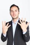 υπολογισμός εννέα αριθμ&o στοκ φωτογραφία με δικαίωμα ελεύθερης χρήσης
