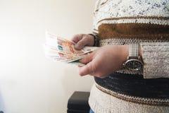 Υπολογισμός των χρημάτων στοκ εικόνες με δικαίωμα ελεύθερης χρήσης