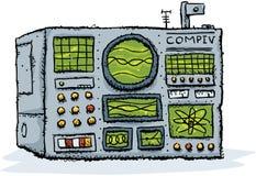 υπολογιστής αναδρομικός διανυσματική απεικόνιση