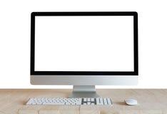 Υπολογιστής γραφείου στοκ εικόνες