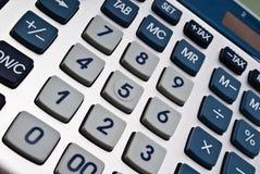 υπολογιστής κουμπιών Στοκ Φωτογραφία
