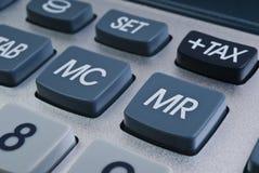 υπολογιστής κουμπιών Στοκ Εικόνα