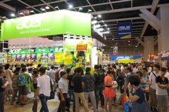 Υπολογιστής & φεστιβάλ 2014 Χονγκ Κονγκ επικοινωνιών Στοκ φωτογραφίες με δικαίωμα ελεύθερης χρήσης