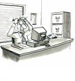 Υπολογιστής Στοκ εικόνες με δικαίωμα ελεύθερης χρήσης