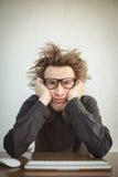 Υπολογιστής Geek Στοκ φωτογραφία με δικαίωμα ελεύθερης χρήσης
