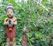 υποδοχή κουκλών στον κήπο Στοκ φωτογραφία με δικαίωμα ελεύθερης χρήσης