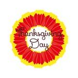 Υπόβαθρα ημέρας των ευχαριστιών διάνυσμα ελεύθερη απεικόνιση δικαιώματος