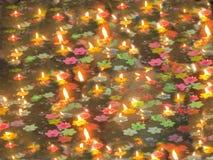 Υπόβαθρα κεριών Στοκ Εικόνες