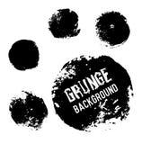 Υπόβαθρα κύκλων Grunge Χρήσιμος για τα εμβλήματα, τα λογότυπα, τα εικονίδια, τις ετικέτες και τα διακριτικά Στοκ Εικόνες