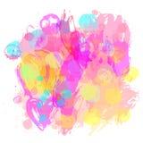 Υπόβαθρο ЦуиAbstract Διανυσματική πλάτη σύστασης παφλασμών watercolor απεικόνιση αποθεμάτων