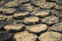 Υπόβαθρο άνθρακα, άνθρακας για τη θέρμανση Στοκ φωτογραφία με δικαίωμα ελεύθερης χρήσης