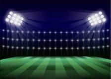 Υπόβαθρο έννοιας γηπέδων ποδοσφαίρου, ρεαλιστικό ύφος απεικόνιση αποθεμάτων