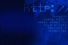 Υπόβαθρο έννοιας Διαδικτύου απεικόνιση αποθεμάτων