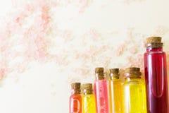 Υπόβαθρο έννοιας Aromatherapy Στοκ Εικόνα