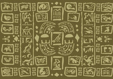 Υπόβαθρο έργου τέχνης της Maya Στοκ εικόνα με δικαίωμα ελεύθερης χρήσης