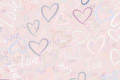 Υπόβαθρο ή σκηνικό, αγάπη για την ημέρα βαλεντίνων, εορτασμοί ή χέρι επετείου που σύρεται, για τη σύσταση σχεδίου απεικόνιση αποθεμάτων