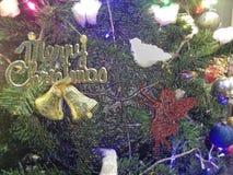 Υπόβαθρο ή ταπετσαρία Χαρούμενα Χριστούγεννας Στοκ Φωτογραφία