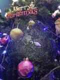 Υπόβαθρο ή ταπετσαρία Χαρούμενα Χριστούγεννας απεικόνιση αποθεμάτων