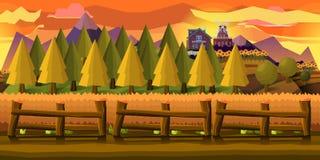 Υπόβαθρο αγροτικών παιχνιδιών Στοκ εικόνες με δικαίωμα ελεύθερης χρήσης